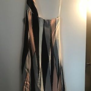 Jay Godfrey Size 6 Silk One Shoulder Dress